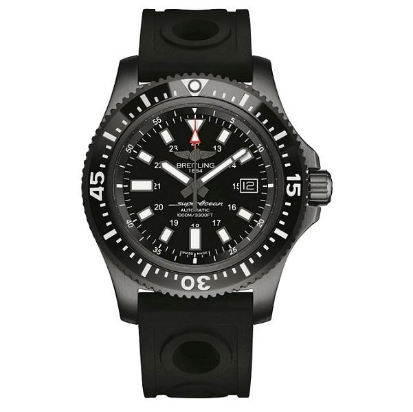 Breitling's Avenger Hurricane 45 replica watch uses dense composites to stay light!