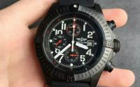Breitling Avenger Black Steel Replica