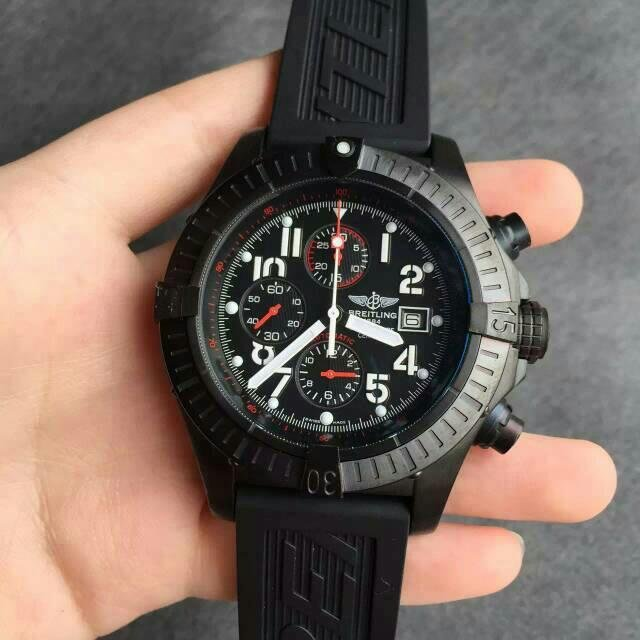 New Comes With Replica Breitling Avenger Black Steel Watch Review!