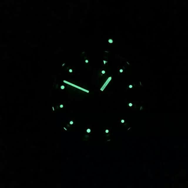 Breitling Green Lume