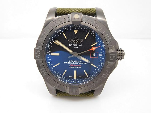 Replica Breitling Avenger Blackbird Titanium Watch Reviews