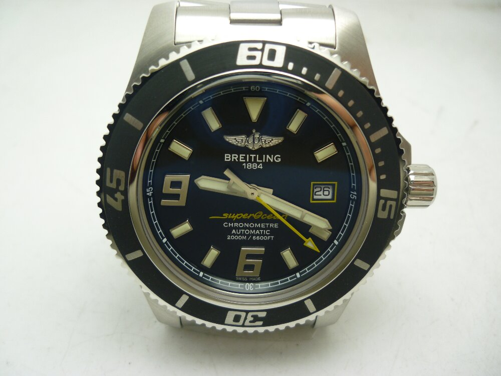 Breitling Superocean Abyss 44mm Stainless Steel Eta 2824 Replica Review!