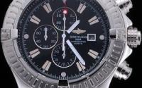 Breitling Chronomat Evolution Black Dial Replica