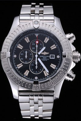 Breitling Chronomat Evolution Black Dial Replica