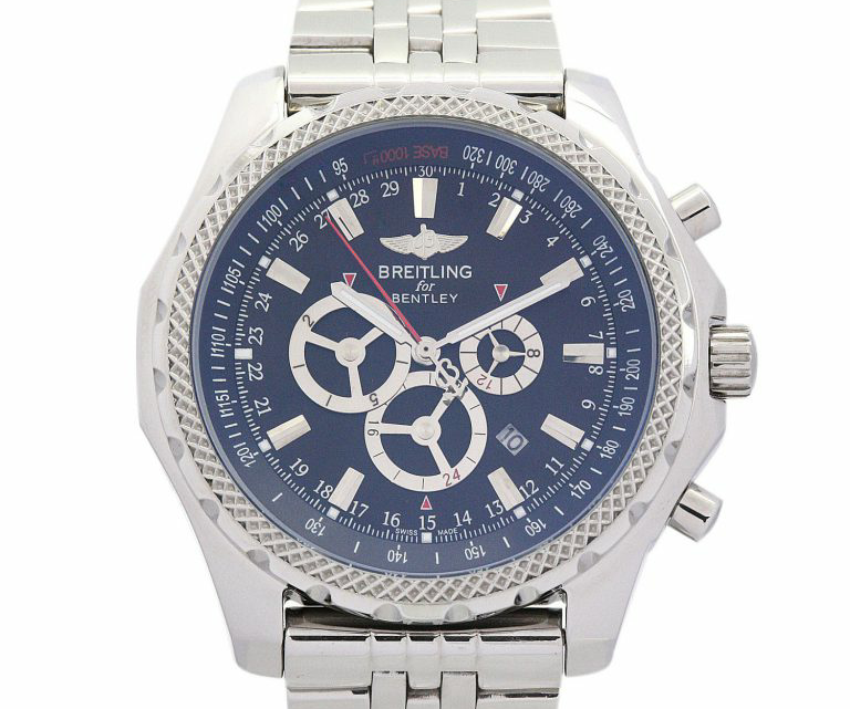 The Blue Dial Breitling Bentley Replica Review