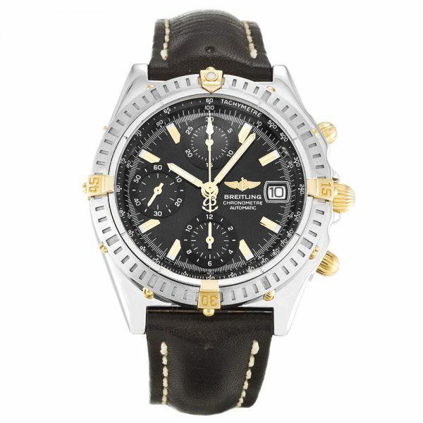Black Dial Breitling Chronomat B13552 Replica Review