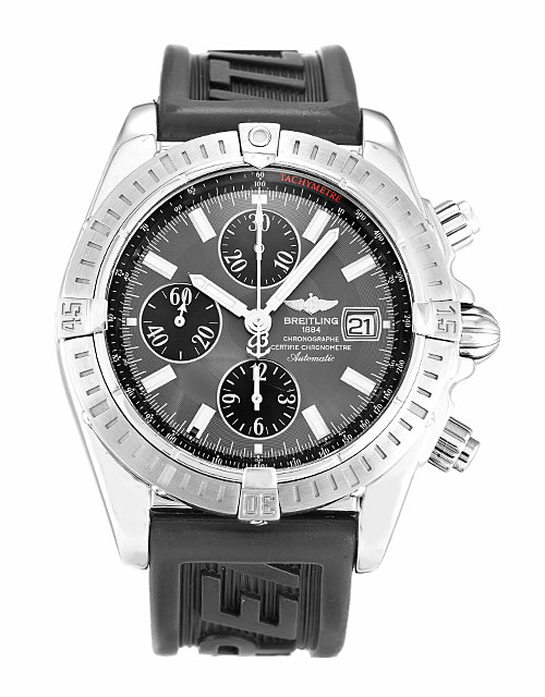 Grey Dial Breitling Chronomat Evolution A13356 Replica