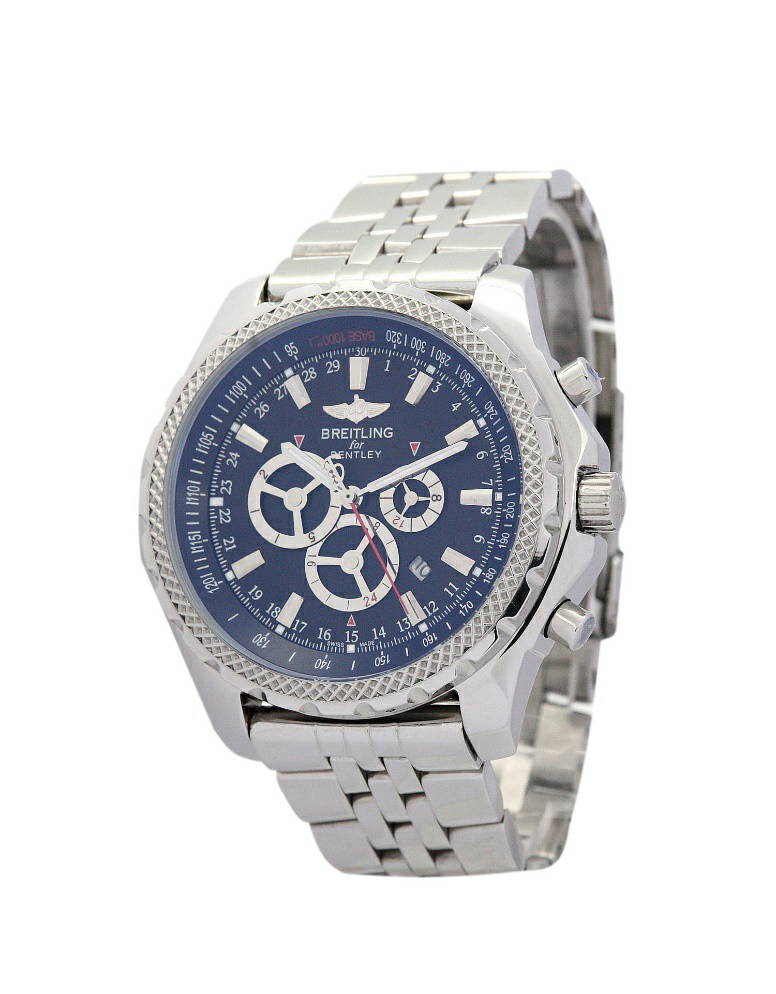 The Blue Dial Breitling Bentley Replica