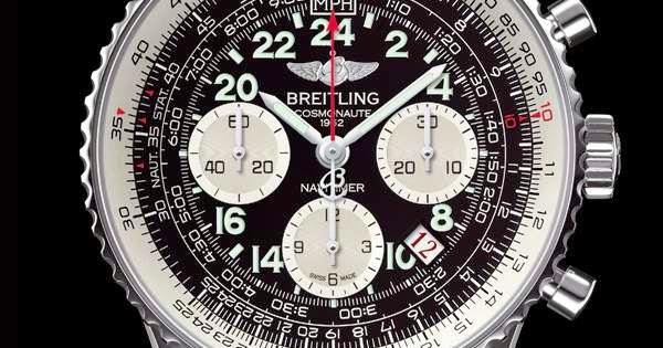 Black Dial Breitling Cosmonuate Replica