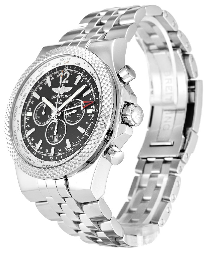 Black Baton Dial Breitling Bentley Replica Watch