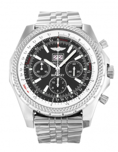 Black Dial Mens Breitling Bentley Replica Watch
