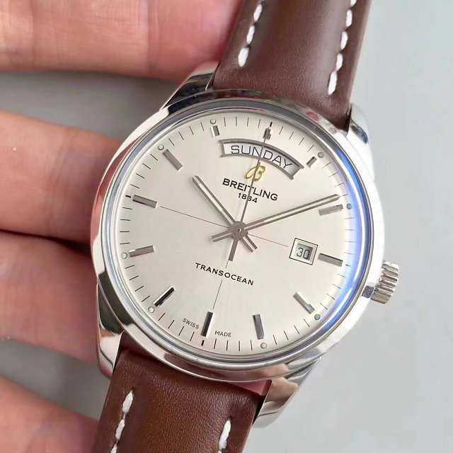 Replica Breitling Transocean Stainless Steel Watch