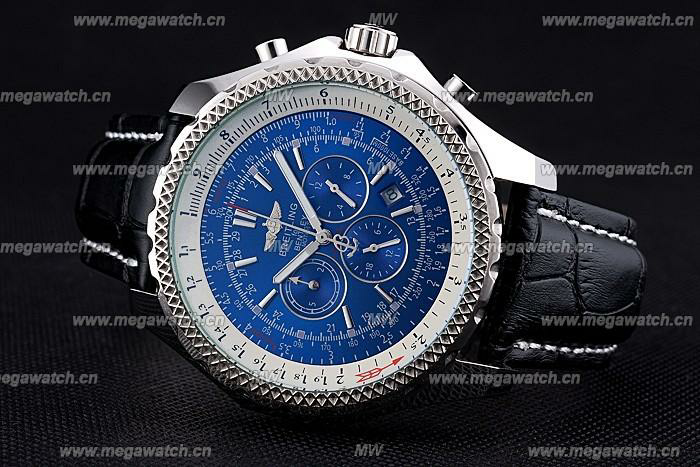 Breitling Stainless Steel 4039 Fake Black Luxury Watch