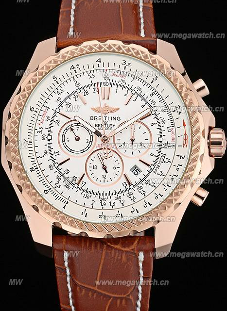 Breitling Bentley Gold Case 622233 Fake Watch Review