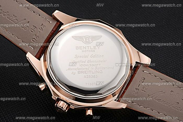 Breitling Bentley Gold Case 622233 Fake Watch